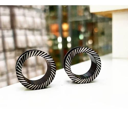 Piercing Expansor Negro Calado 14 Y 16  Piercing Argentina ®