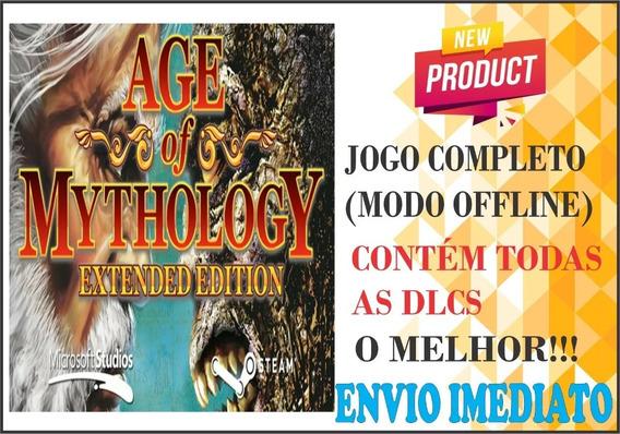 Age Of Mythology + The Titans - Em Português Envio Já