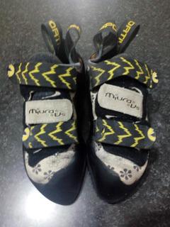 Gatas Zapatos Escalada Miura Mujer La Sportiva 37.5 Eur