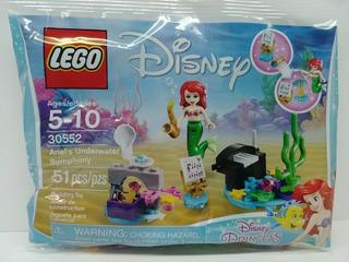 Lego Disney 30552 Ariel Underwater Symphony 51 Piezas