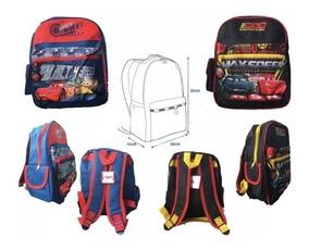 Mochila Infantil Cars Niños Nueva Original $11.000c/u