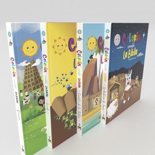 4x3 - Colorin Cuenta La Biblia - Los 4 Libros