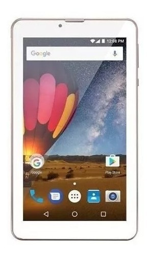 Tablet M7 3g Plus Multilaser Nb271 Golden Rose Quad Core + Fone (brinde)