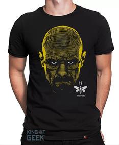 Camiseta Heisenberg Breaking Bad Camisa Geek Série Blusa