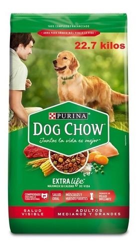 Dog Chow Adultos Medianos Y Grandes  22.7kg