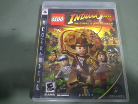 Jogo Seminovo Lego Indiana Jones Ps3 Pronta Entrega!!!