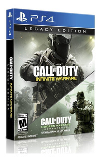 Call Of Duty Infinite Warfare Legacy Edition Ps4 Fisico