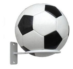 Suporte Expositor De Parede Para Bola De Futebol