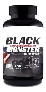 Tribulus Terrestris Black Monster Com Maca Importado - 1 Und