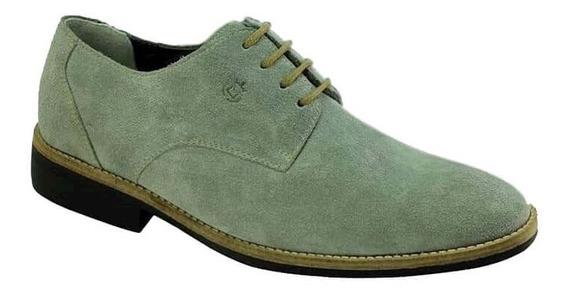 Sapato Masculino Sandro Moscoloni Grey Suede Camurça