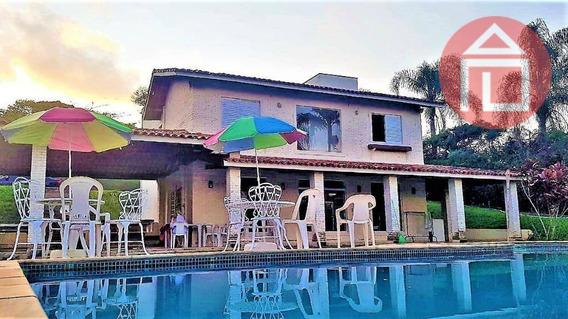 Chácara Com 4 Dormitórios À Venda, 2300 M² Por R$ 2.500.000,00 - Serrinha - Bragança Paulista/sp - Ch0202