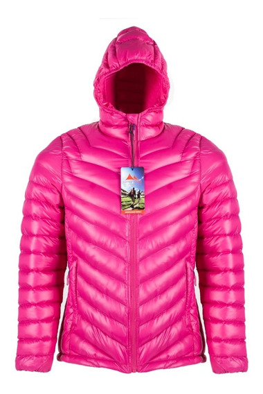 Campera Mujer Nord Cape Ushuaia Inflable Pluma Sintética