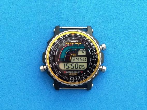 Relógio Casio Dw-403 Surfing Timer S/ Pulseira S/ Som Novo