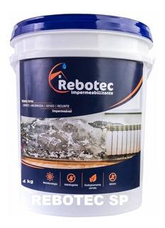 Rebotec 4 Kg Impermeabilizante Interlagos Santo Amaro Sp 4kg