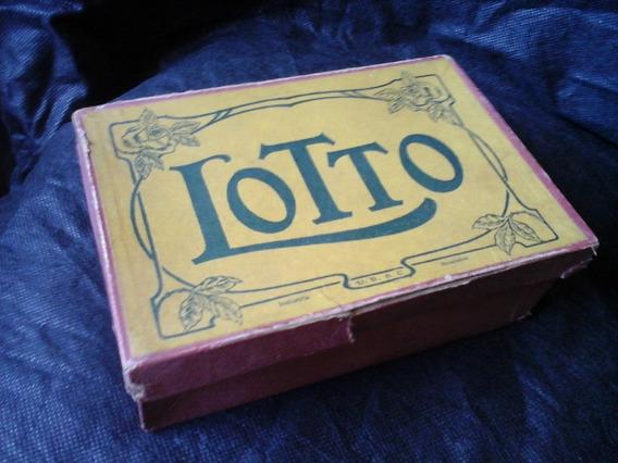 Jogo Lotto Marca Brasileira Anos 50 Completo