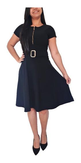 Kit 5 Vestidos Femininos Evangélico Social Rodado Barato