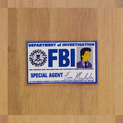 Imagen 1 de 5 de Licencia Simpsons  Fbi