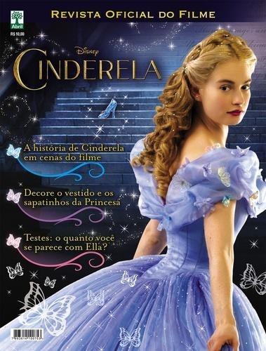 Revista Oficial Do Filme Cinderela