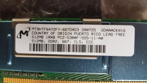 Memoria M/ibm Ddr2 512mb Pc2-5300f 667mhz Cl5 Ecc P/server.