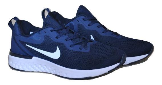 Kp3 Zapatos Caballeros Nike Odyssey React Azul Marino