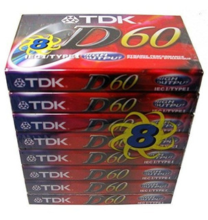 Tdk Dynamic 60 8 Unidades