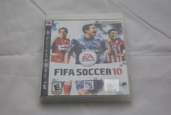 Jogo Ps3 - Fifa Soccer 10