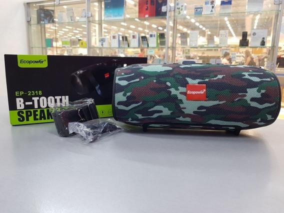 Caixa De Som Ecopower Ep-2318 Verde Camuflado