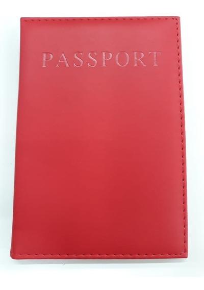 Protector Funda Porta Pasaportes Varios Colores
