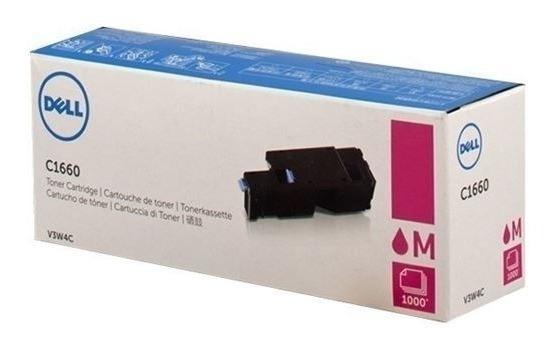 Cartucho Toner Dell Magenta Para C1660w - 1000 Pag