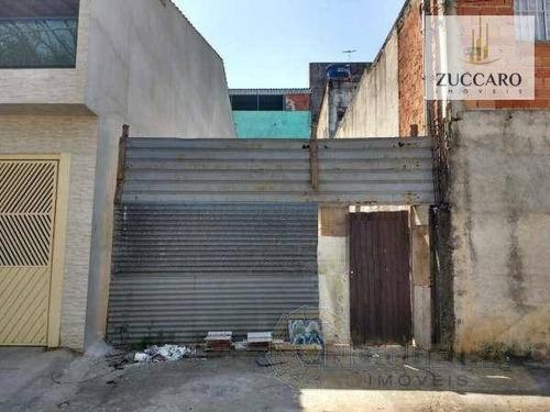 Terreno À Venda, 125 M² Por R$ 179.500,00 - Jardim Presidente Dutra - Guarulhos/sp - Te0635