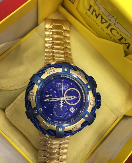 Relógio Masculino Automático Aaa Premium - Gold Thunderbolt