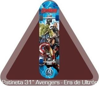 Patineta Azul Avengers Era De Ultron