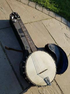 Irish Short Scale Tenor Banjo English Made