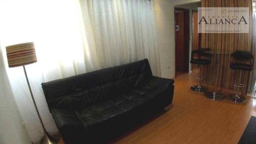 Apartamento Com 2 Dormitórios À Venda, 50 M² Por R$ 215.000,00 - Alves Dias - São Bernardo Do Campo/sp - Ap2267