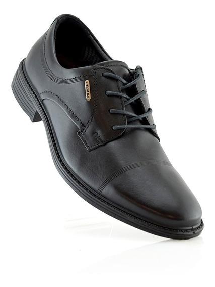 Zapato Hombre Oxford Cuero Pegada 125301-01 Elis Calzados