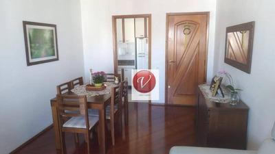 Apartamento Com 3 Dormitórios À Venda, 78 M² Por R$ 420.000 - Vila Guiomar - Santo André/sp - Ap9276