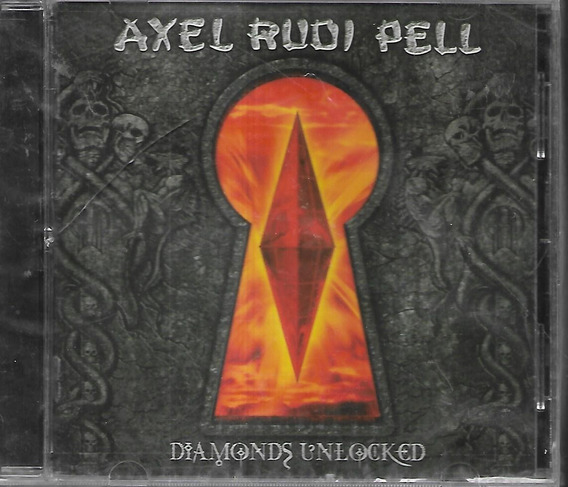Axel Rudi Pell Album Diamonds Unlocked Sello Icarus Sellado