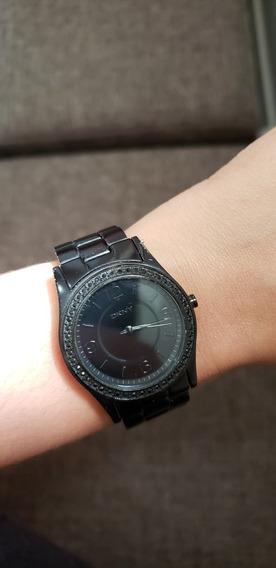 Relógio Preto Dkny - Original!