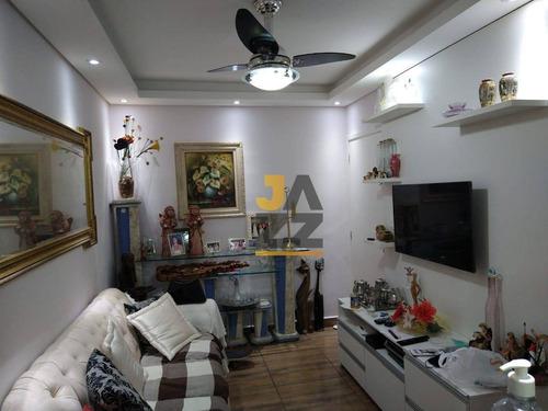 Imagem 1 de 22 de Lindo Apartamento Com 2 Dormitórios À Venda No Condomínio Asteca, 56 M² Por R$ 230.000 - Loteamento Industrial Machadinho - Americana/sp - Ap7186