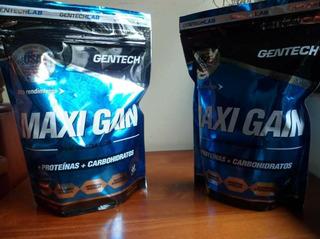 Ganador Muscular Maxi Gain Gentech 750g