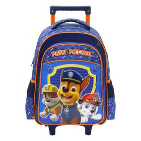 Mochila Infantil 14 Paw Patrol Com Rodas 7991