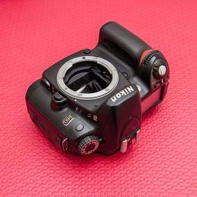 Câmera Nikon D80 Dslr (só Corpo Com 25k) Melhor Que D3000