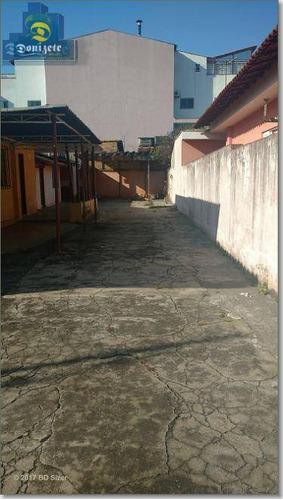 Terreno À Venda, 300 M² Por R$ 640.000,00 - Vila América - Santo André/sp - Te0302