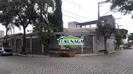 Casa Residencial E Comercial Para Locação, Vila Galvão, Guarulhos. - Ca0302