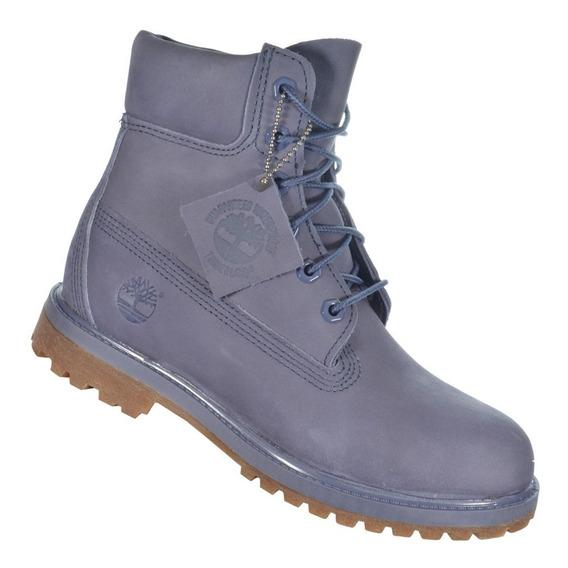 Bota Timberland Yellow Boot 6 W Azul