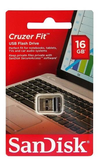 Kit 15 Pen Drive Pendrive 16gb Nano Sandisk Cruzer Fit Z33 Original Atacado.