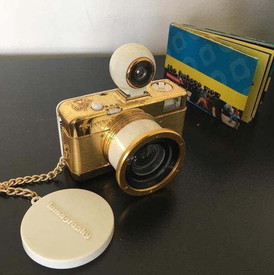 Lomography Fisheye No. 2 Pure Gold Edição Limitada