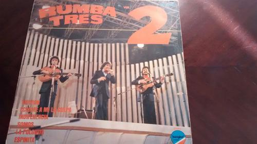 Vinilo Lp De Rumba Tres  - Vol 2  -(u1332