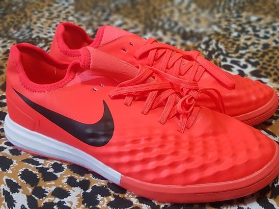 Tênis Nike Futsal Laranja