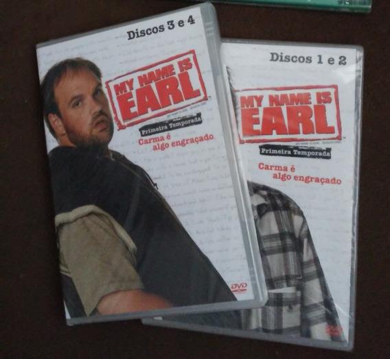 Dvd My Name Is Earl - Primeira Temporada - Original Lacrado